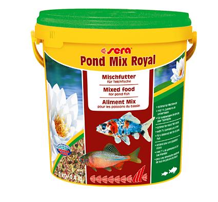 מיקס רויאל 10 ליטר / 2 קילו Sera Pond Mix Royal - תמונה 1
