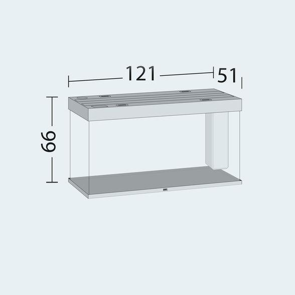 אקווריום + שולחן JUWEL RIO 350 - תמונה 13