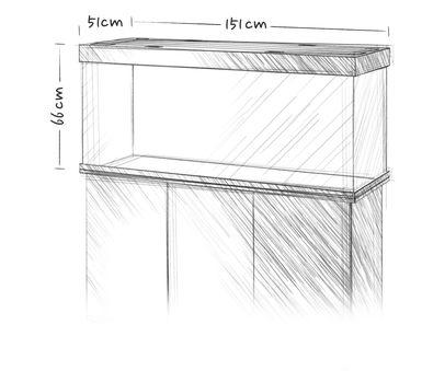 אקווריום + שולחן JUWEL RIO 450 - תמונה 11