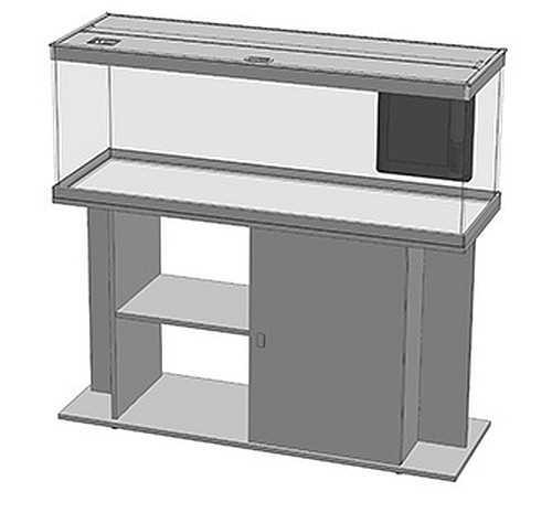 אקווריום + שולחן Aquatlantis Style Led 120 - תמונה 4