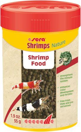 סרה לשרימפס 100 מל / 55 גרם Sera Shrimps Nature - תמונה 1