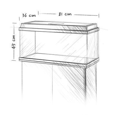 אקווריום 110 ליטר JUWEL Primo_LED 110 - תמונה 3