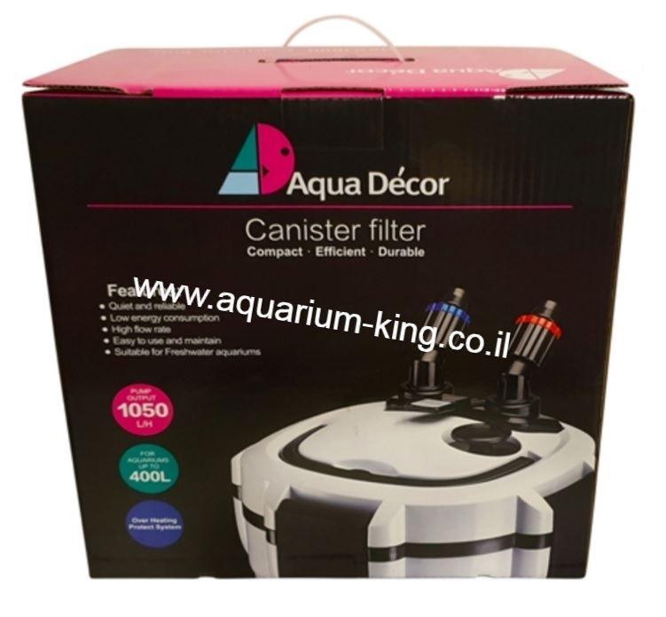 פילטר חיצוני לאקווריום Aqua Decor Pro1000 - תמונה 2
