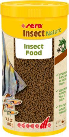 סרה אינסקט 1 ליטר / 400 גרם Sera Insect Nature - תמונה 1