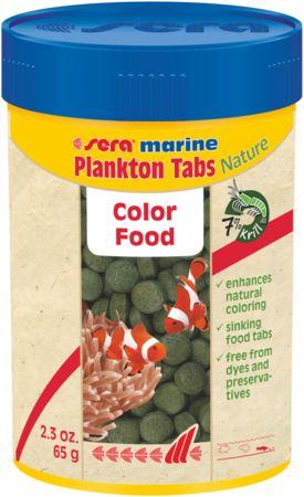 סרה פלנקטון 100 מל / 65 גרם Sera marine Plankton Tabs Nature - תמונה 1