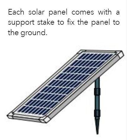 משאבת מים סולרית UBBINK SOLARMAX1000 - תמונה 2