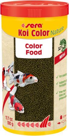 סרה קוי קולור 1 ליטר / 320 גרם Sera Koi Color Nature - תמונה 1