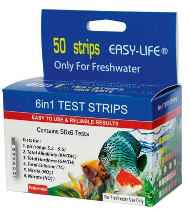 Easy Life 6 in 1 test strips