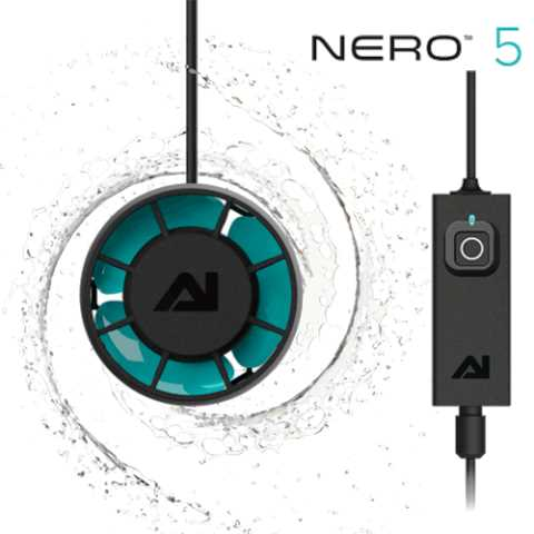 משאבת גלים Aqua Illumination Nero 5