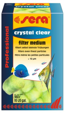 מדיה לסינון Sera Crystal Clear
