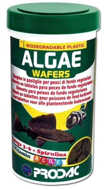מזון לדגי נקאי Prodac Algae Wafers 12000ML
